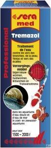 Sera Med Professional Tremazol Traitement de l'eau contre les vers des branchies, de la peau, Ténias et vers des écailles