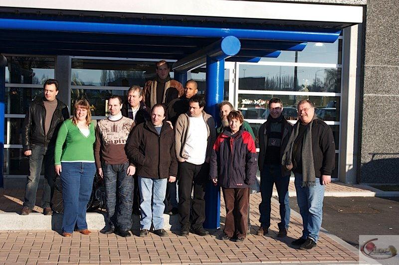 Sortie EDA & ADP du 16 février 2008